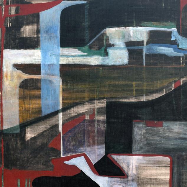 Before I forget, acrylique sur toile, 100x70 cm, 2020