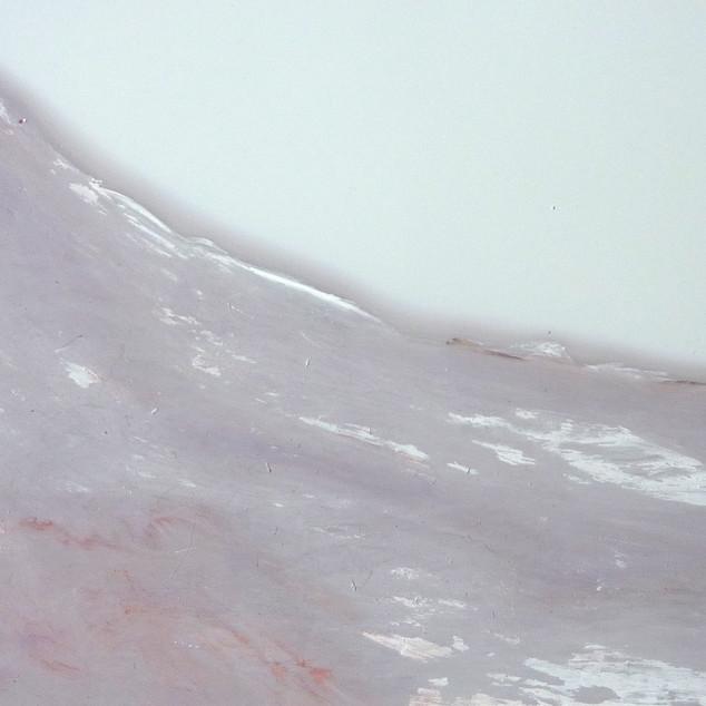 Horizon 4, aquarelle sur papier photo argentique A5