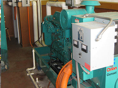 Emergency Generator, Honolulu Intl Airport