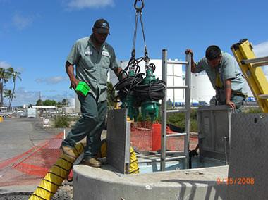 Sewage Pump Station, Keehi Boat Harbor, Oahu