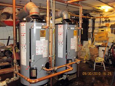 Hot Water Storage, Roselei Apartments