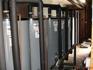 Hot Water Storage, Waikiki Hotel