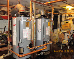 Hot Water Storage - Rosalei Apartments