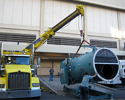 New Boiler Installation -Hilton Hawaiian Village