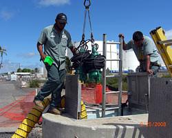 Sewage Pump Station - Keehi Boat Harbor, Oahu