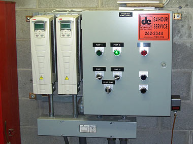 Motor Control Center w/Variable Frequency Drives
