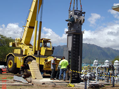 Wastewater Screen, MCBH Kaneohe