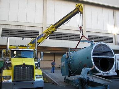 New Boiler Installation, Hilton Hawaiian Village