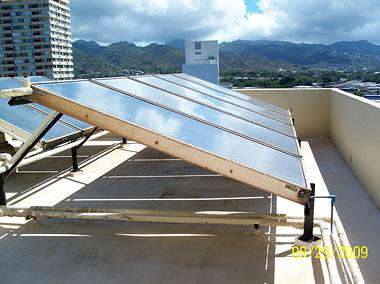 Solar Hot Water, Lehua Manor