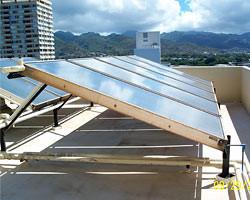 Solar Hot Water - Lehua Manor