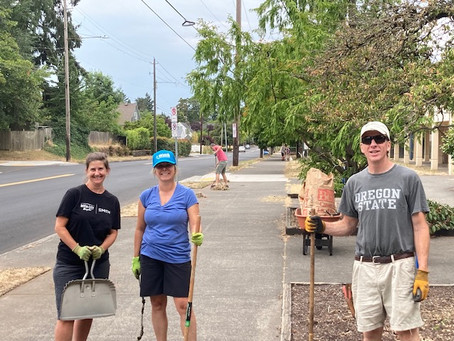 Beaumont Middle School Cleanup