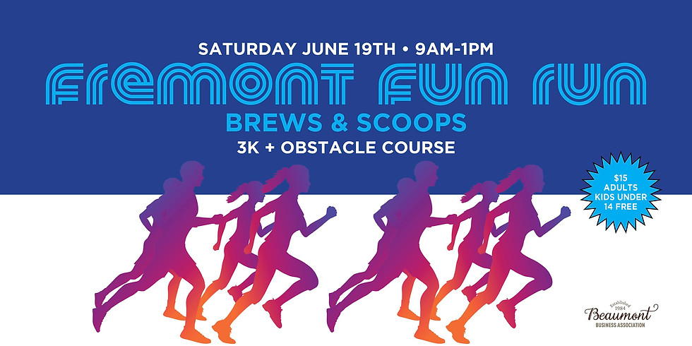 Fremont Fun Run - Brews & Scoops