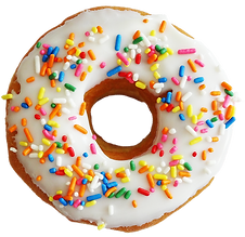 Multi Color Sprinkle Donut.png