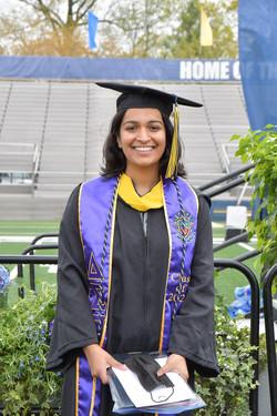 2020 SPU Fox Scholar Chintal Shah