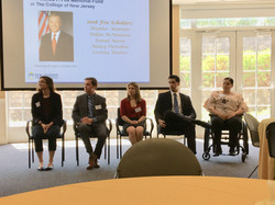 2018 TCNJ Fox Scholars' Presentation