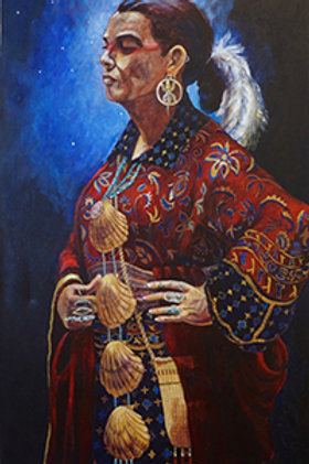 The Cherokee Storyteller