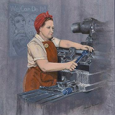 Women in Men's Jobs -1942