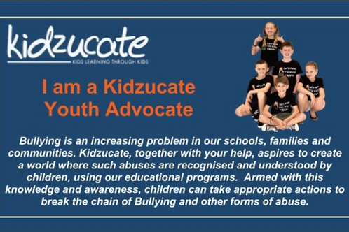 Youth Advocate Cards - 250
