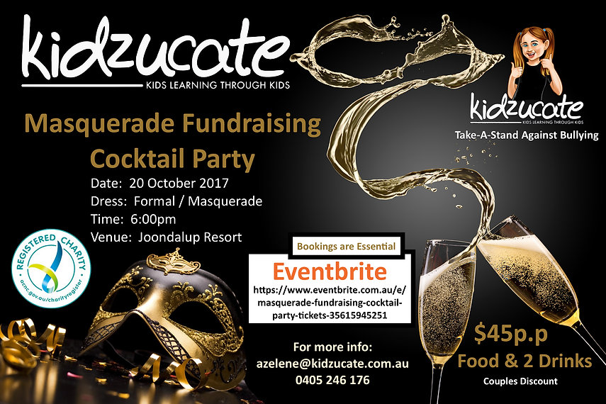 Masquerade Fundraising Cocktail Party