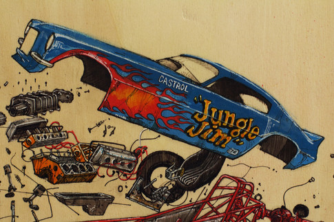 """jungle Jim funnycar"""