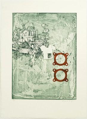 Utan titel (grön), 2017.