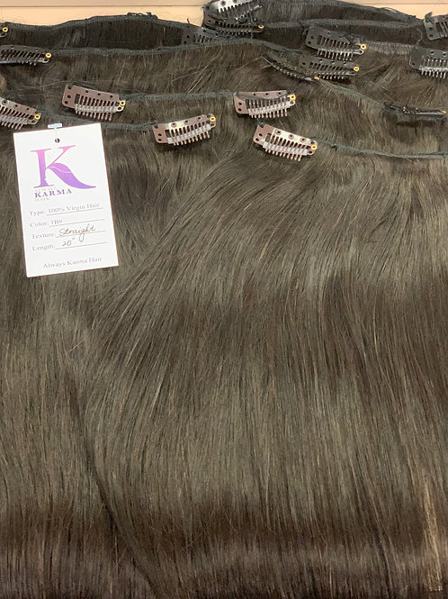 Karma Cambodian Clip Ins