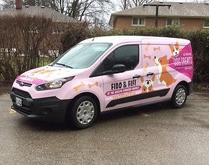 The Fido & Fifi Pink Dog Treat Truck