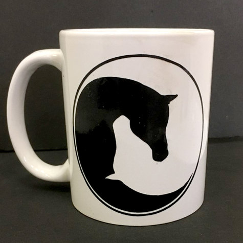 Horse Yin Yang Coffee Mug