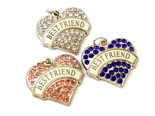'Best Friend' Heart Pendant