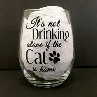 Drinking Alone Cat