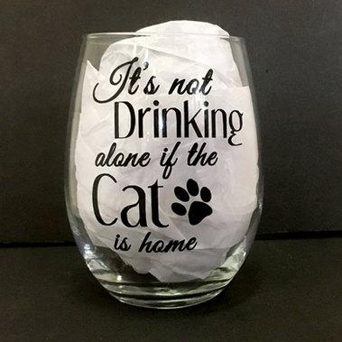Drinking Alone Cat