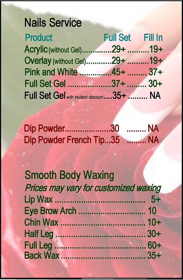 Star 30 Nail Spa Nails Service (Box 1) M