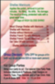 Star 30 Nail Spa Shellac (Box 2) Aug 201