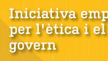 La Generalitat Valenciana llança una iniciativa empresarial per l'ètica i el bon govern