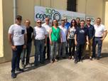 Membres de la Junta Directiva d'EMPAL visitaren la Copal en la seua jornada de portes obertes