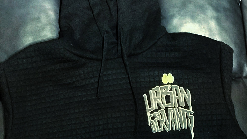 Urban Servants Pocket Logo Ribbed Pullover