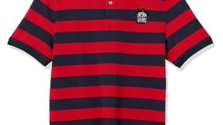 Big Striped Polo Shirt