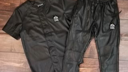 Jet Black Urban Servants Joggers Set