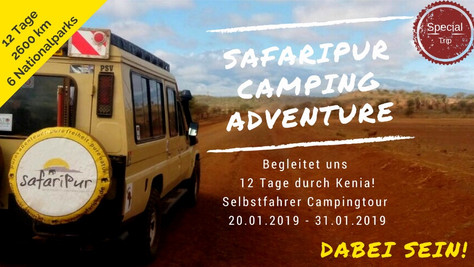 Safaripur Camping Adventure - 20.01.19 - 31.01.19