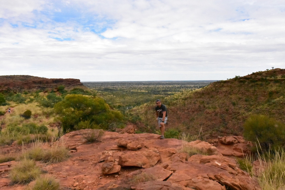 Abenteuer Pur auf dem Weg vom Ayers Rock zum Kings Canyon