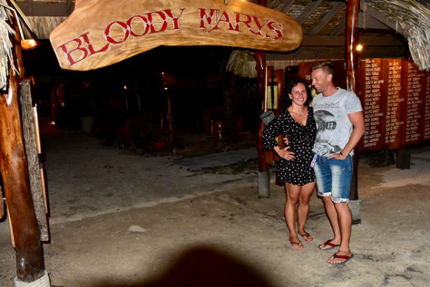 Bloody Mary- auf Bora Bora nicht nur ein Getränk!