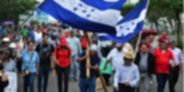 manifestaciones-salud-educacion-honduras