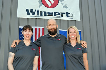 Amy Bergstrom, Paul Dickinson, Trisha Lemery, Winsert expansion