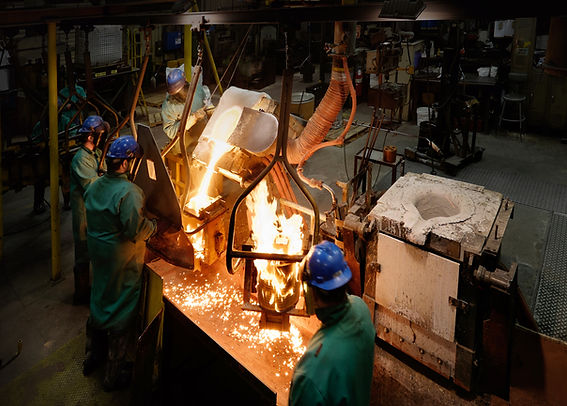 Winsert Foundry Pour