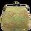 Thumbnail: Square gamaguchi pouch yellow