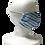 Thumbnail: Shibori Mask Kyo-arashi Blue
