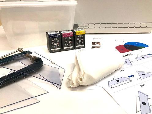 Kyoto shibori dyeing kit