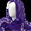 Thumbnail: bai shibori purple