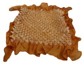 Bai shibori handkerchief Orange