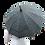 Thumbnail: Silk parasol Full kanoko